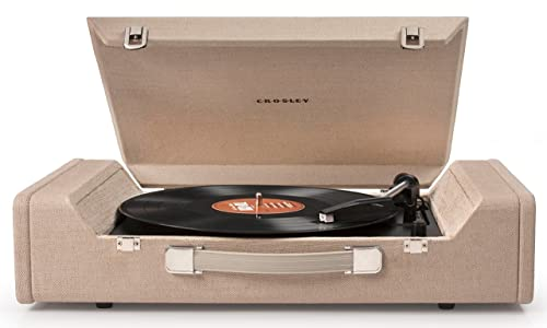 Crosley CR6232A-BR Nomad USB Portable Turntable