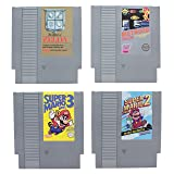 Paladone Nintendo NES Cartridge Coasters for Drinks - Nostalgic Drink Coasters Featuring All of Your Favorite Games (Color: Multicolor)