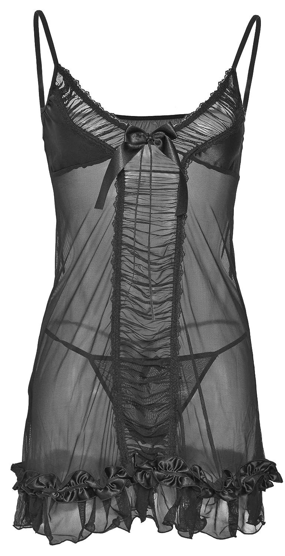 DKaren-Nachtwäsche Damen Wäsche Set aus Tüll ROXANA (XS – 2XL) günstig bestellen