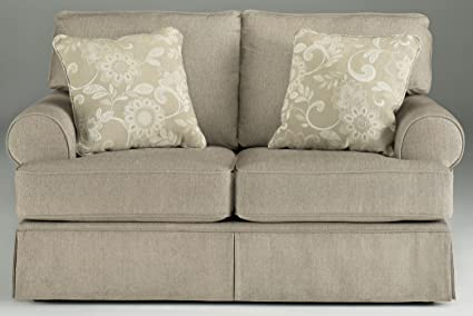 Signature Design by Ashley - Candlewick Linen Loveseat
