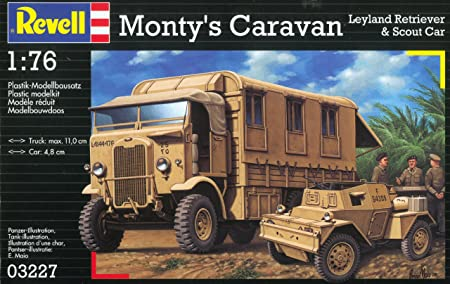 Revell - Maquette - Monty'S Caravan  - Echelle 1:76