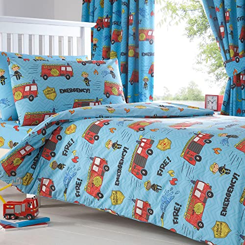 Fire Truck Crib Bedding : Engine fire truck crib free image for user