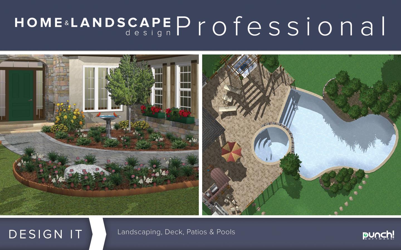 Punch Home Landscape Design Professional V19 Home