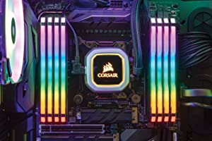 CORSAIR Vengeance RGB PRO 64GB (8x8GB) DDR4 3600MHz C18 LED Desktop Memory - Black (Color: RGB PRO - Black, Tamaño: 64GB (8x8GB))