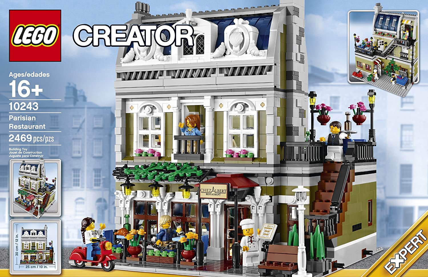 Toys For Restaurants : Lego creator parisian restaurant best gifts top toys