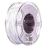 eSUN 1.75mm Cool White PLA PRO (PLA+) 3D Printer Filament 1KG Spool (2.2lbs), Cool White (Color: Cool White)