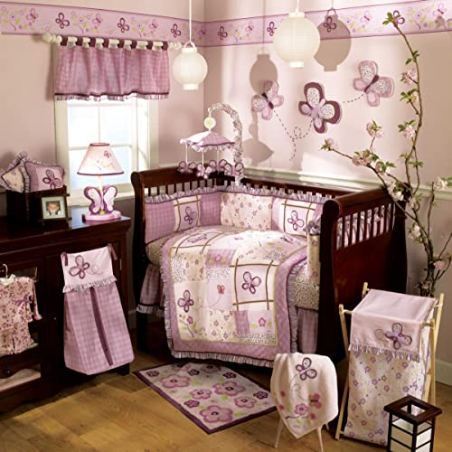 CoCaLo Sugar Plum 6 Piece Crib Bedding Set