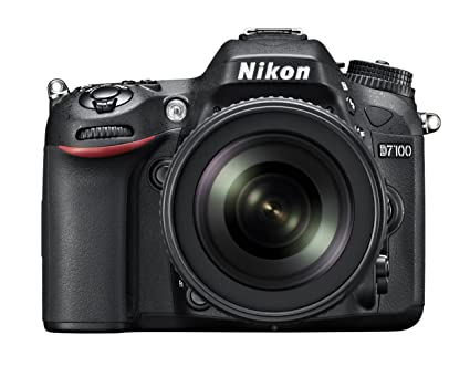 Nikon D7100 24.1MP Digital SLR Camera (Black) with AF-S 18-105mm VR Lens, 4GB card, Camera bag