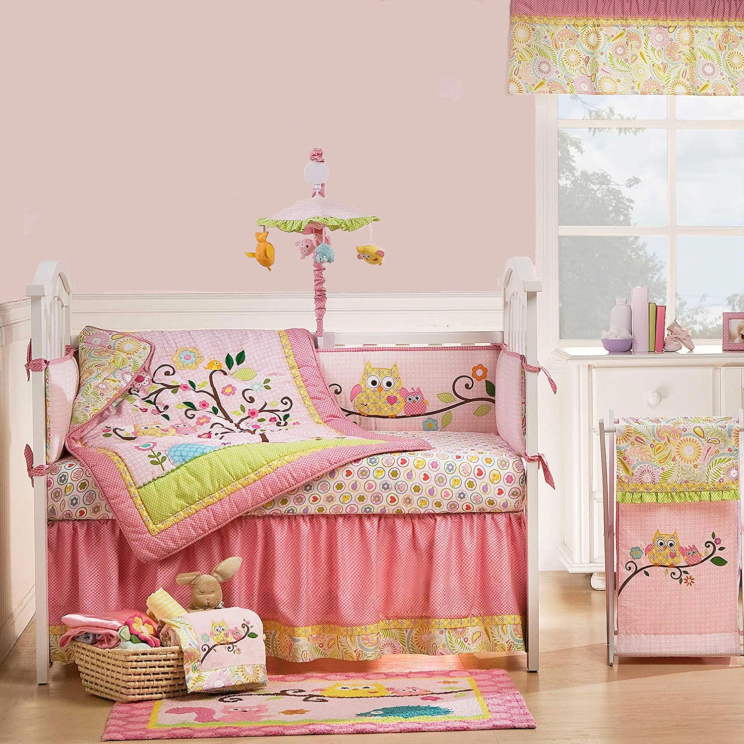 Kidsline Dena Happi Tree Crib Bedding