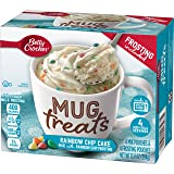 Betty Crocker Baking Mug Treats Rainbow Chip Cake Mix with Rainbow Chip Frosting, 13.9 oz(us)