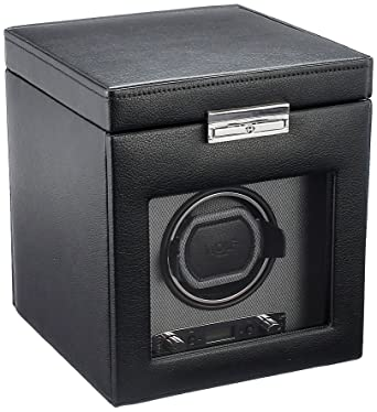 Heiden prestige single watch winder - black