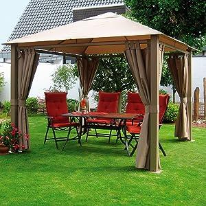 Pavillon NOMADO H 280 x B 300 x T 300 cm  (16650102)Kundenbewertung: