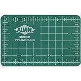 Alvin GBM Series Green/Black Professional Self-Healing Cutting Mat 3 1/2 x 5 1/2 (Color: Green, Tamaño: 3.5 Inches)