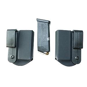 FoxX Holsters Super Slim Kydex IWB Magazine Carrier Holster -Mag Pouch Holder (Black, CZ 75 SP01) (Color: Black, Tamaño: CZ 75 SP01)