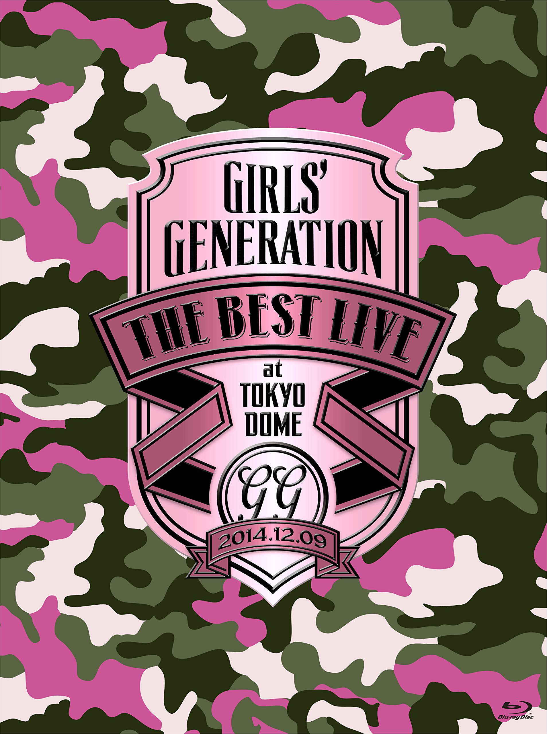 GIRLS' GENERATION THE BEST LIVE at TOKYO DOME [Blu-Ray]