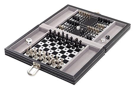 Echecs, Backgammon, Dames
