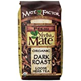 The Mate Factor Yerba Mate Energizing Mate & Grain Beverage, Dark Roast , 12 Ounce (Tamaño: 12 oz)