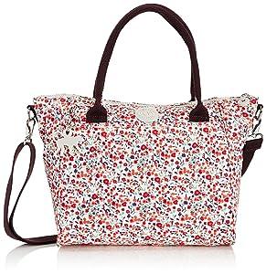 Kipling Amiel, Sac porté main - Multicolore (Pop Floral Pr), Taille Unique   Commentaires en ligne plus informations