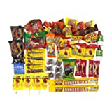Dulce Mexicano Mix. Caja de Dulces Mexicanos Surtidos. Mexican Candy Box Assortment Snacks. Includes Mexican Candies From Your Favorites Such as Rebanaditas, Rellerindos, Vero Mango, Pulparindo & More