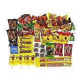 Dulce Mexicano Mix. Caja de Dulces Mexicanos Surtidos. Mexican Candy Box Assortment Snacks. Includes Mexican Candies From Your Favorites Such as Rebanaditas, Rellerindos, Vero Mango, Pulparindo & More