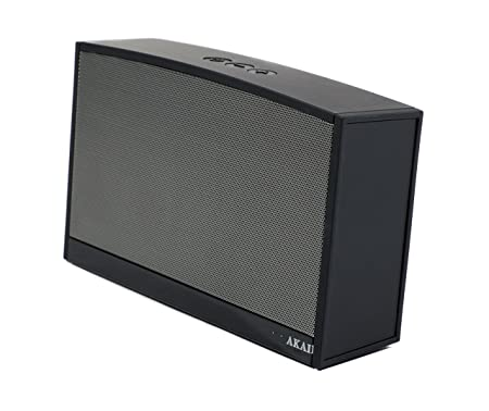 Akai AWS10BK Enceinte pour MP3 & Ipod Noir, Gris