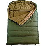 TETON Sports Mammoth Queen Size Flannel Lined Sleeping Bag