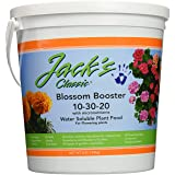 J R Peters Jacks Classic No.4 10-30-20 Blossom Booster Fertilizer - 51064 (Tamaño: 4 Pounds)