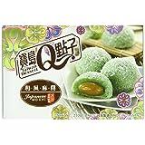 Royal Family Japanese Rice Cake Mochi, Coconut Pandan, 7.41 Ounce (Pack of 24)