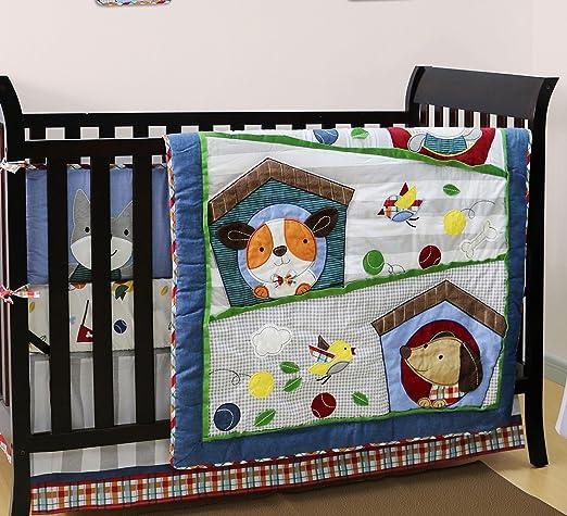 Belle Puppy Pals Baby Bedding