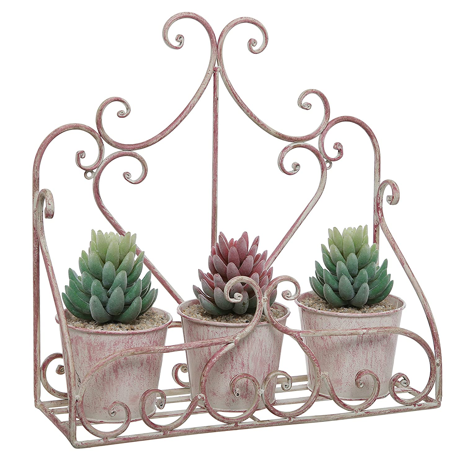 beautiful metal planters for wall decoration strong and. Black Bedroom Furniture Sets. Home Design Ideas