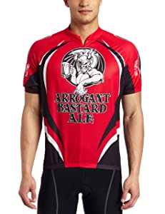 Stone Brewing Company Cycling Jerseys Arrogant Bastard red