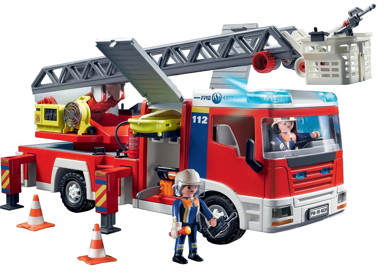 camion pompier playmobil. Black Bedroom Furniture Sets. Home Design Ideas