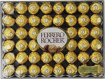 3 Ferrero Rocher Hazelnut Chocolates, 48 Count
