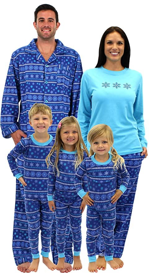 SleepytimePjs Christmas Frozen Winter Family Matching Pajamas