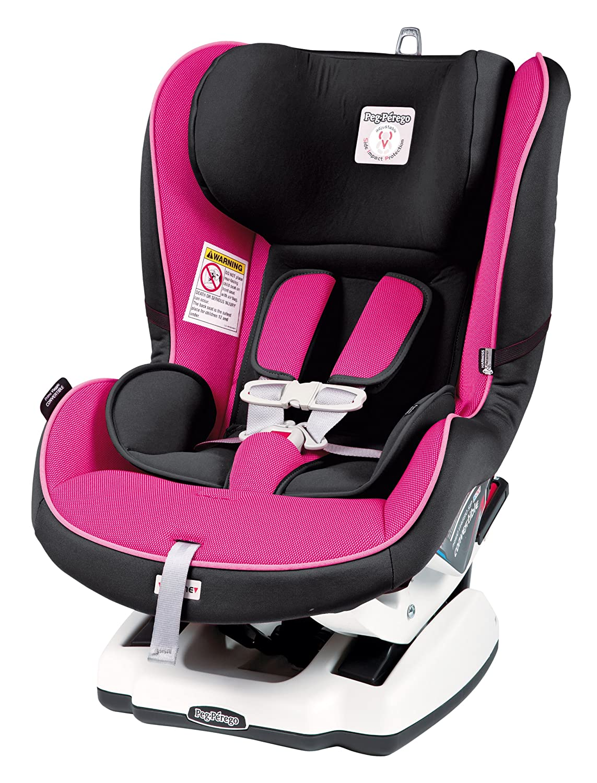 Peg Perego Convertible Premium Infant to Toddler Car Seat, Fucsia