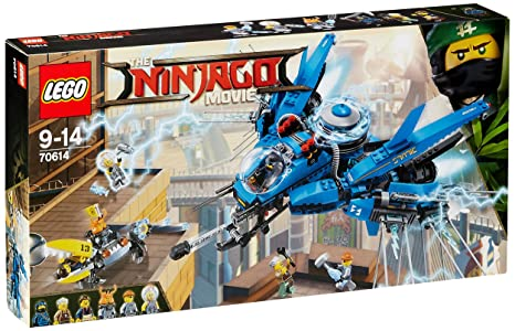 LEGO - 70614 - LEGO Ninjago - Jeu de Construction - Le Jet Supersonique de Foudre