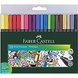 Faber-Castell Grip Finepen (Wallet of 20)