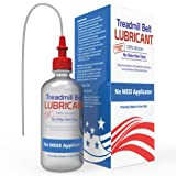 Treadmill Belt Lubricant | 100% Silicone | USA MADE | No Odor & No Propellants | Applicator Tube for Full Belt Width Lubrication at a Controlled Flow-So Easy (Tamaño: 4oz)