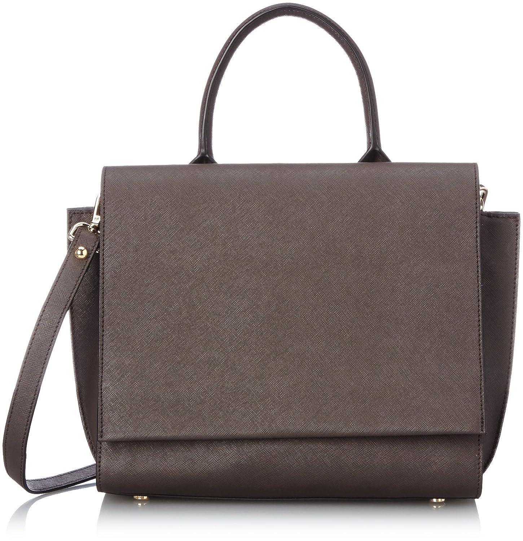(ダブルスタンダードクロージング)DOUBLE STANDARD CLOTHING トラペーゼ ショルダーバッグ 6014053 B ブラウン FREE : 服&ファッション小物通販 | Amazon.co.jp