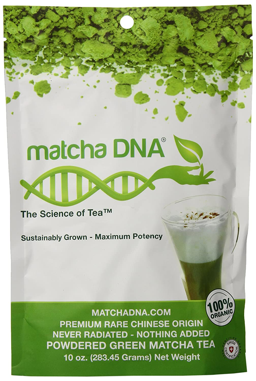Match green tea