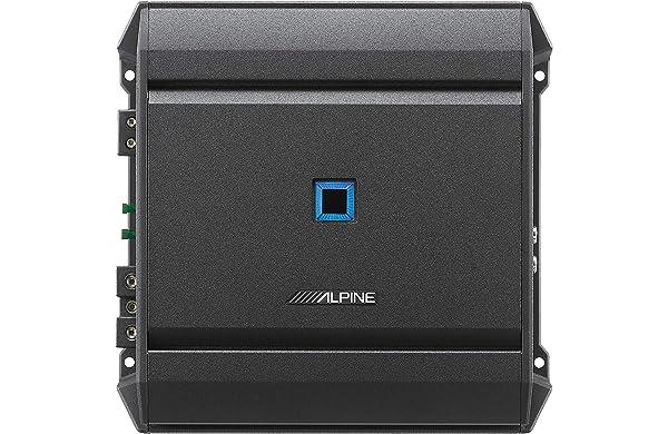 Alpine S-A60M S-Series Class D Mono Amplifier (Color: Black)