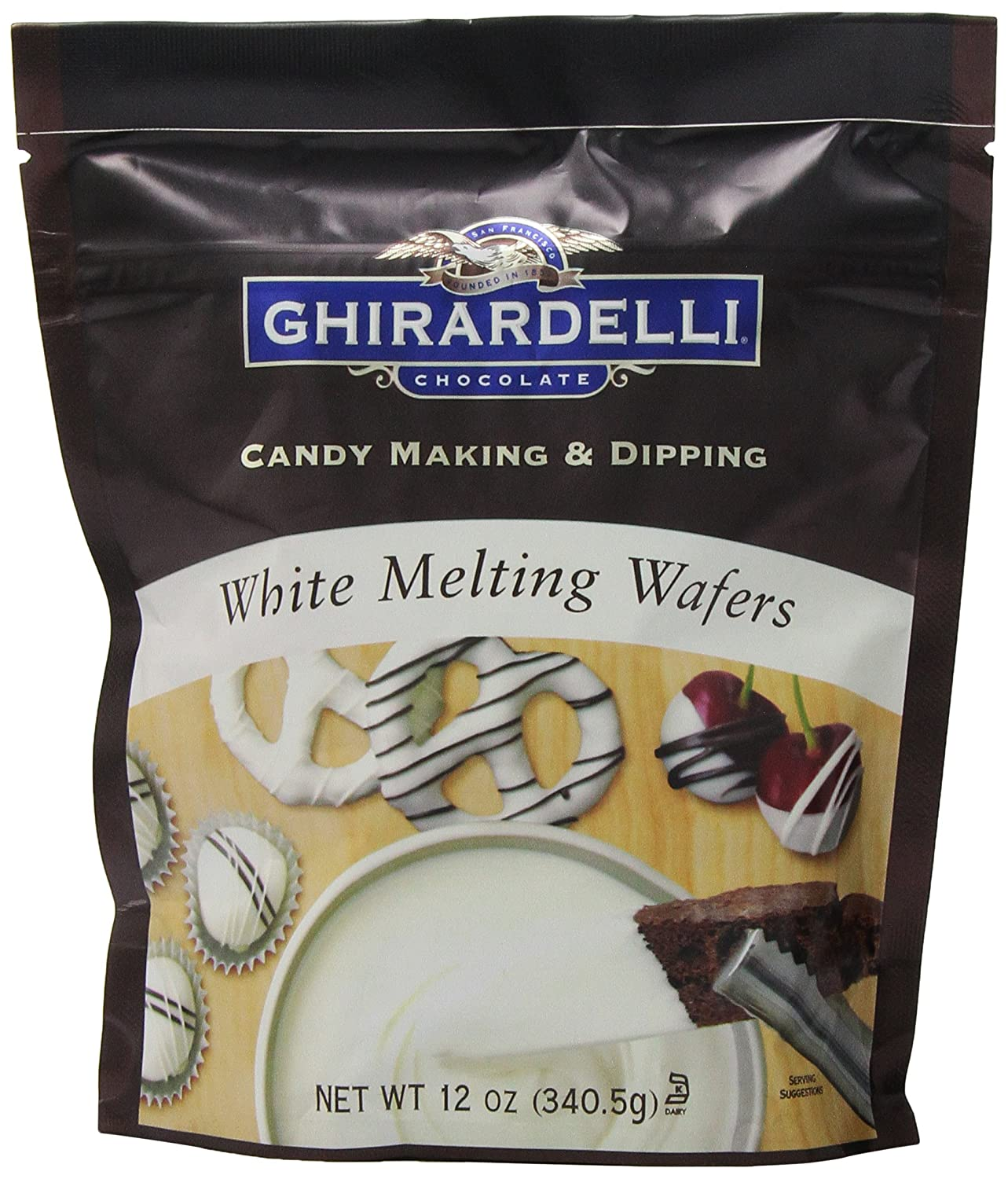 White Chocolate Candy Wafers