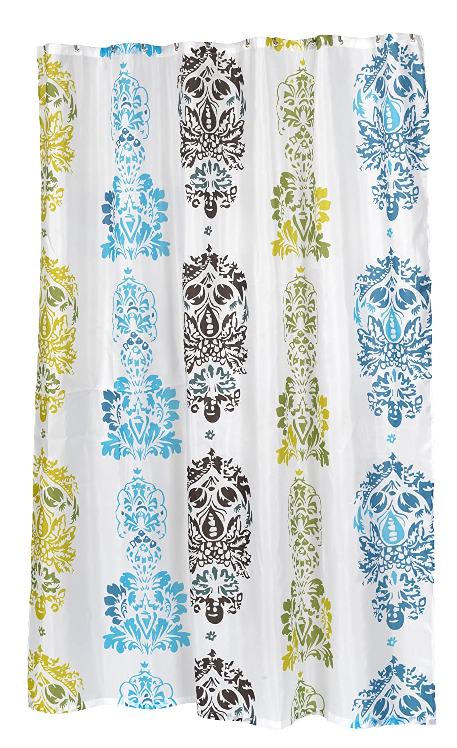 Carnation Home Fashions 100 Percent Polyester Fabric 72 By 84 Inch Shower Curtai Ebay