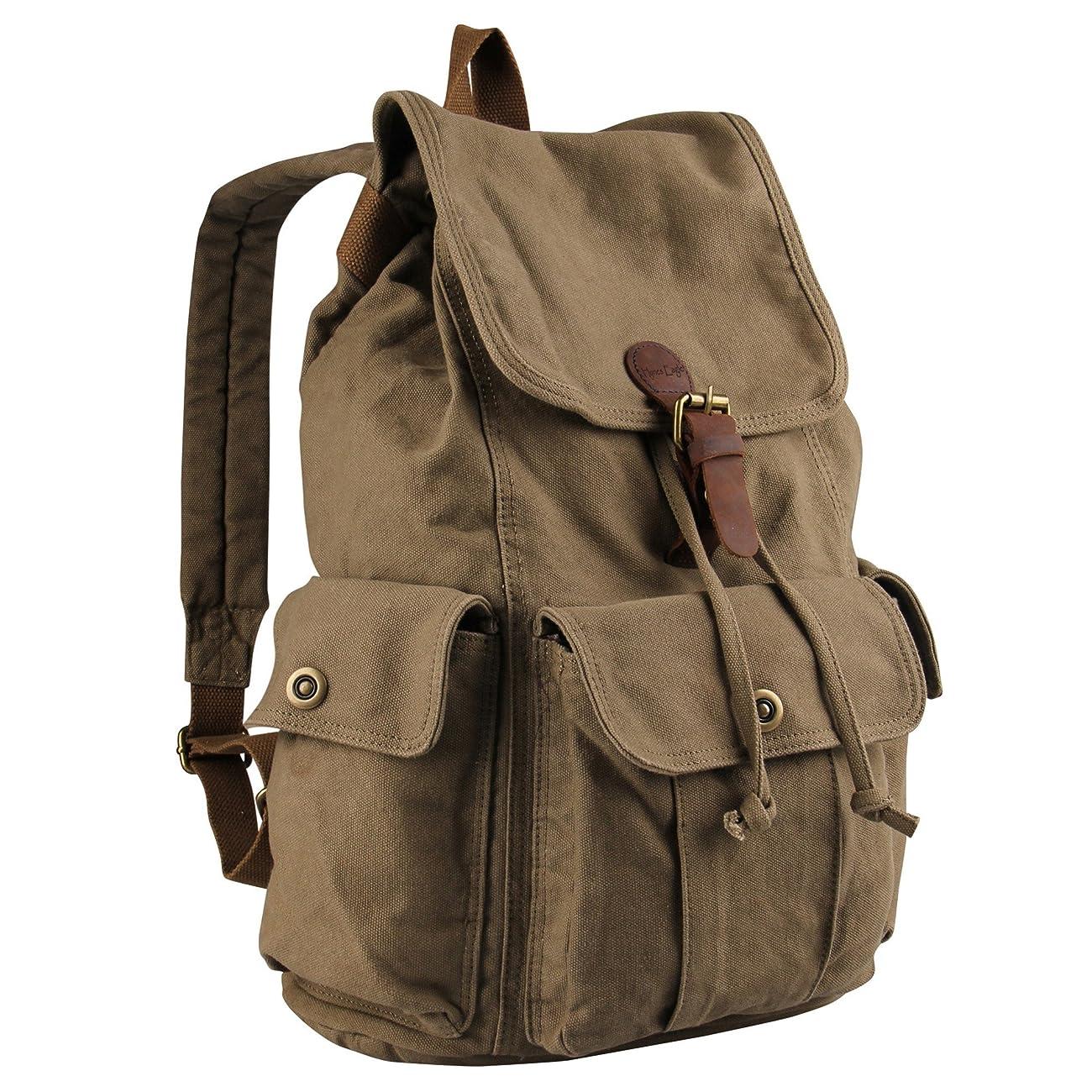 Hynes Eagle Retro Designer Canvas Backpack 28 Liter 1