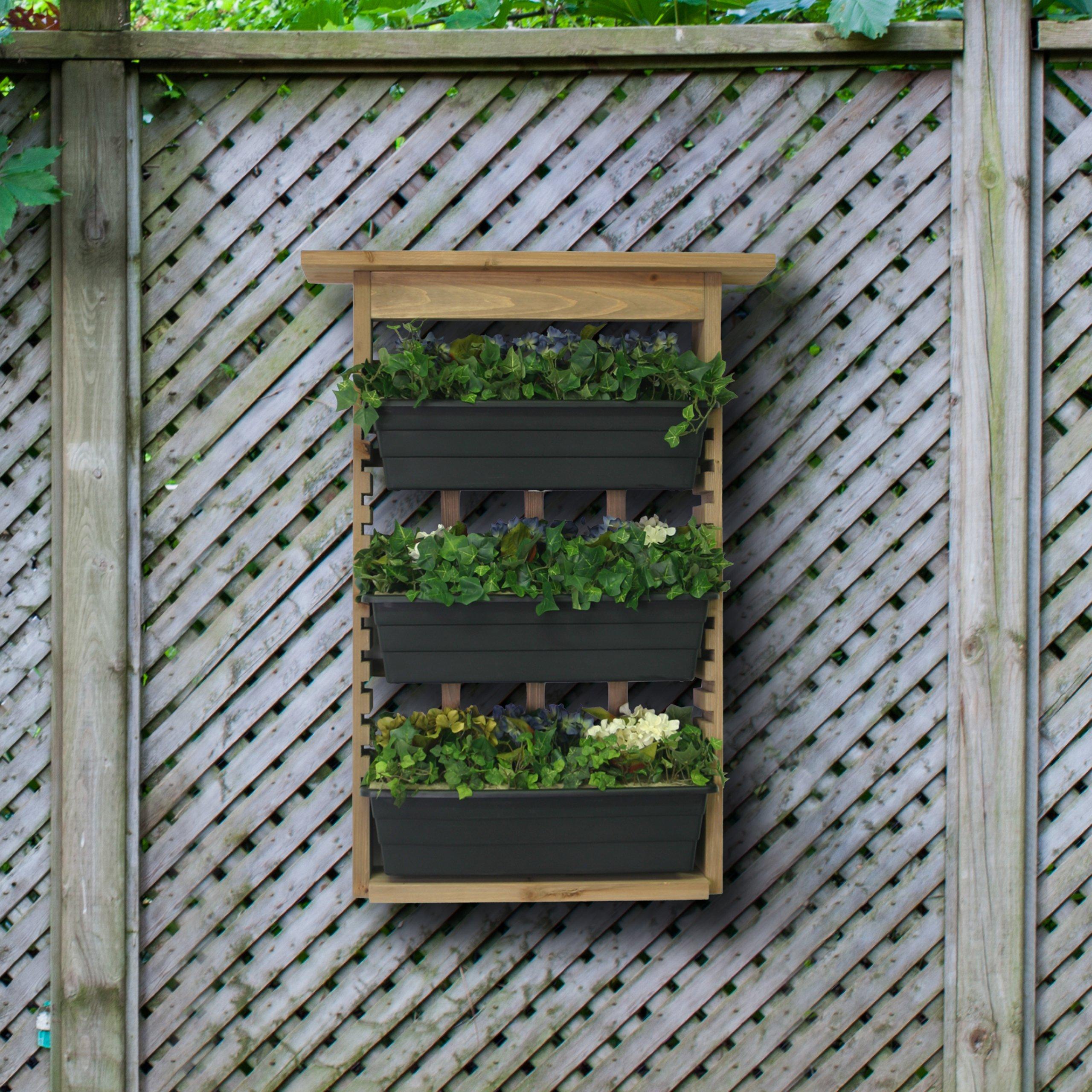 Algreen 34002 Garden View Vertical Living Wall Planter Ebay