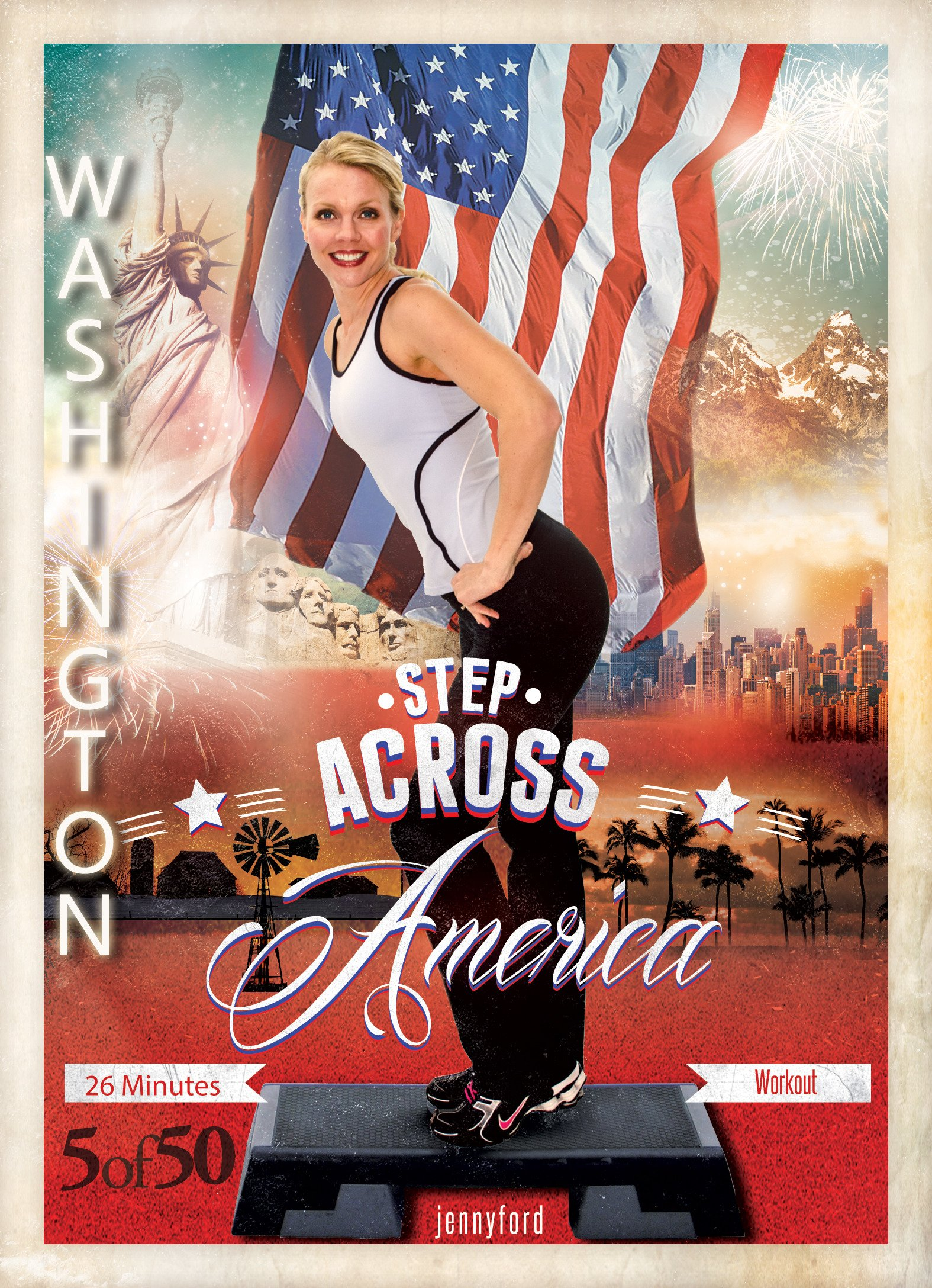 Washington Step Across America (5 of 50) Jenny Ford