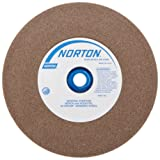 Norton Bench and Pedestal Abrasive Wheel, Type 01 Straight, Aluminum Oxide, 1