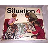 Vintage Situation 4 Game Parker Brothers 1968