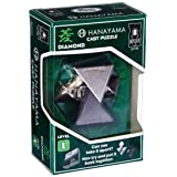 Bepuzzled Hanayama Level 1 Diamond Metal-Cast Brain Teaser Puzzle