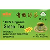 China Green Tea 100 Tea Bags, Organic